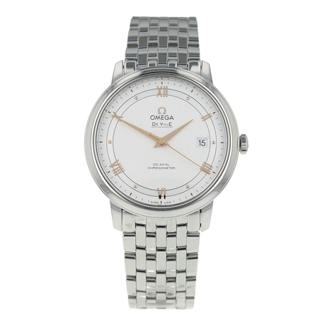Pre-Owned Omega De Ville Prestige Mens Watch 424.10.40.20.02.004