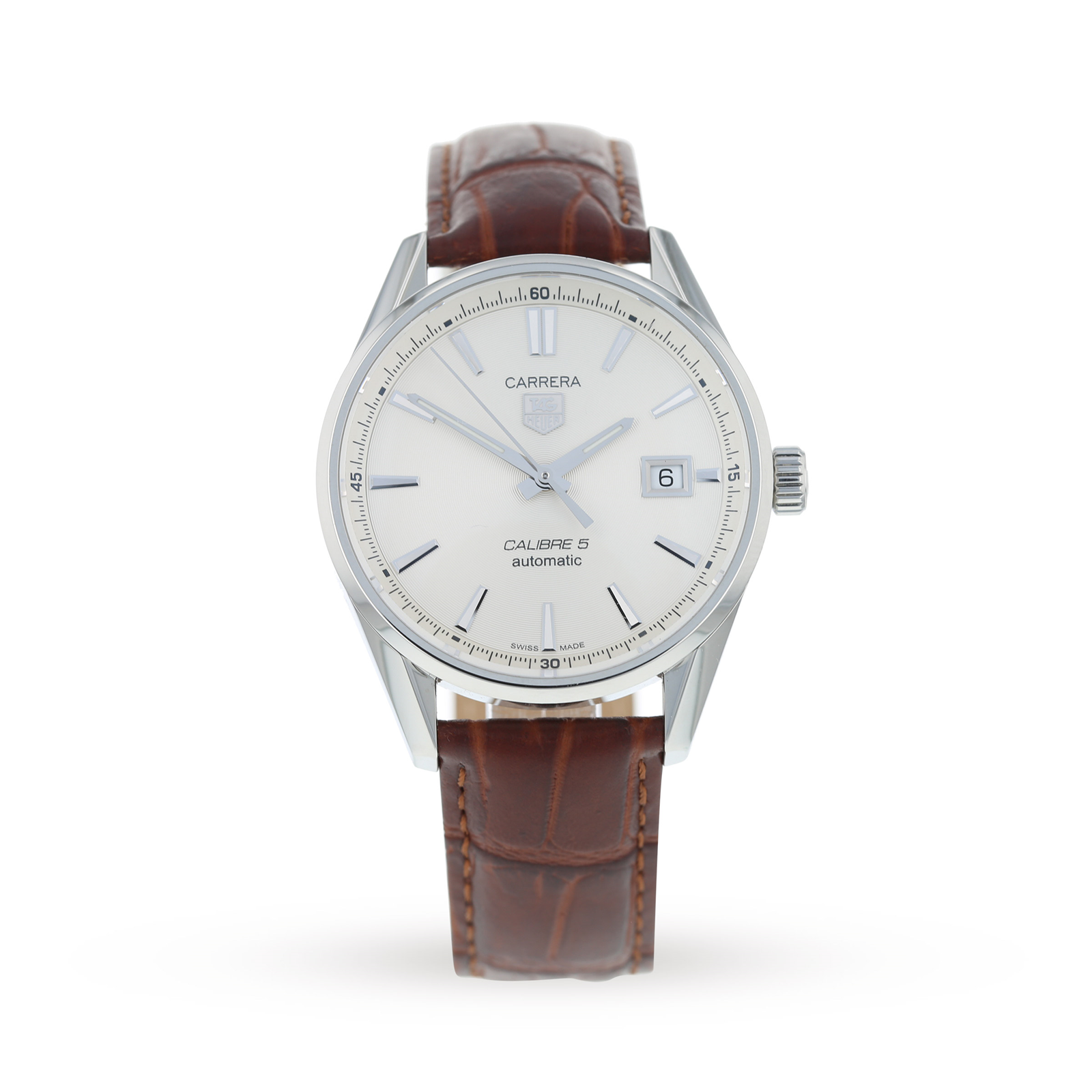 0edb8b7e727 Pre-Owned TAG Heuer Carrera Calibre 5 Mens Watch WAR211B.FC6181 | Pre Owned  Watches | Mappin & Webb