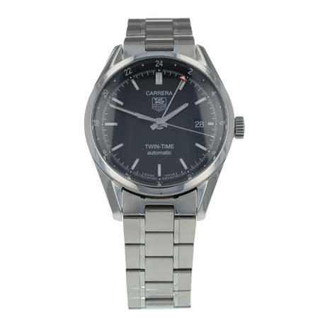 Pre-Owned TAG Heuer Carrera Twin-Time Mens Watch WV2115