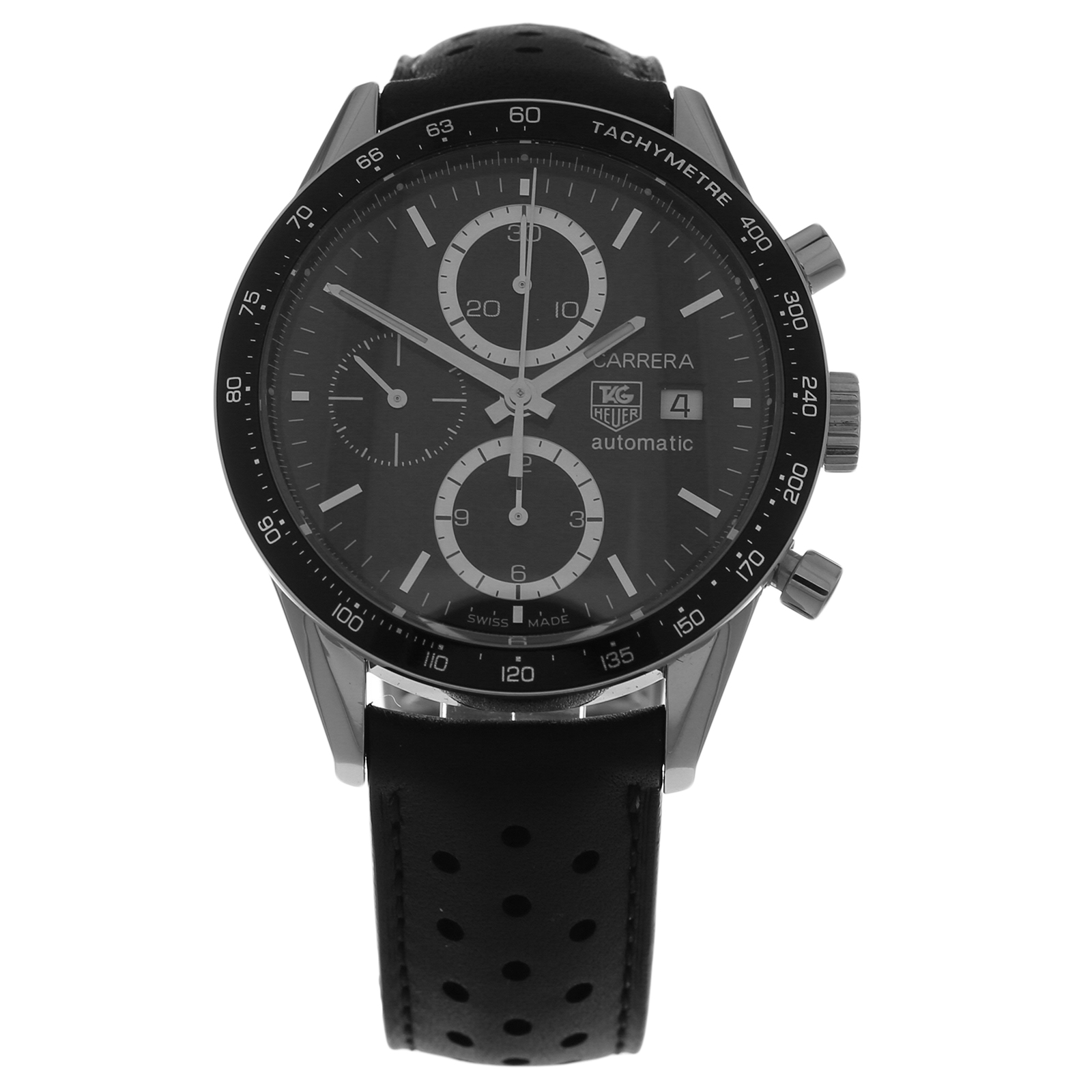 9265056f283dc Pre-Owned TAG Heuer Carrera Calibre 16 Chronograph Mens Watch CV2010 ...