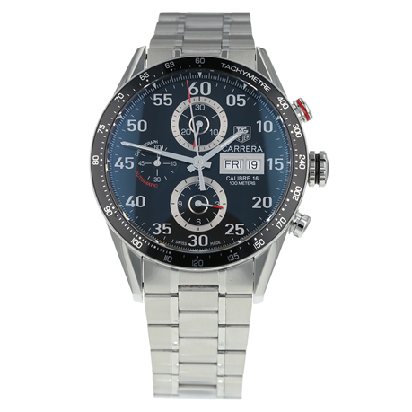 Pre-Owned TAG Heuer Carrera Day-Date Mens Watch CV2A10