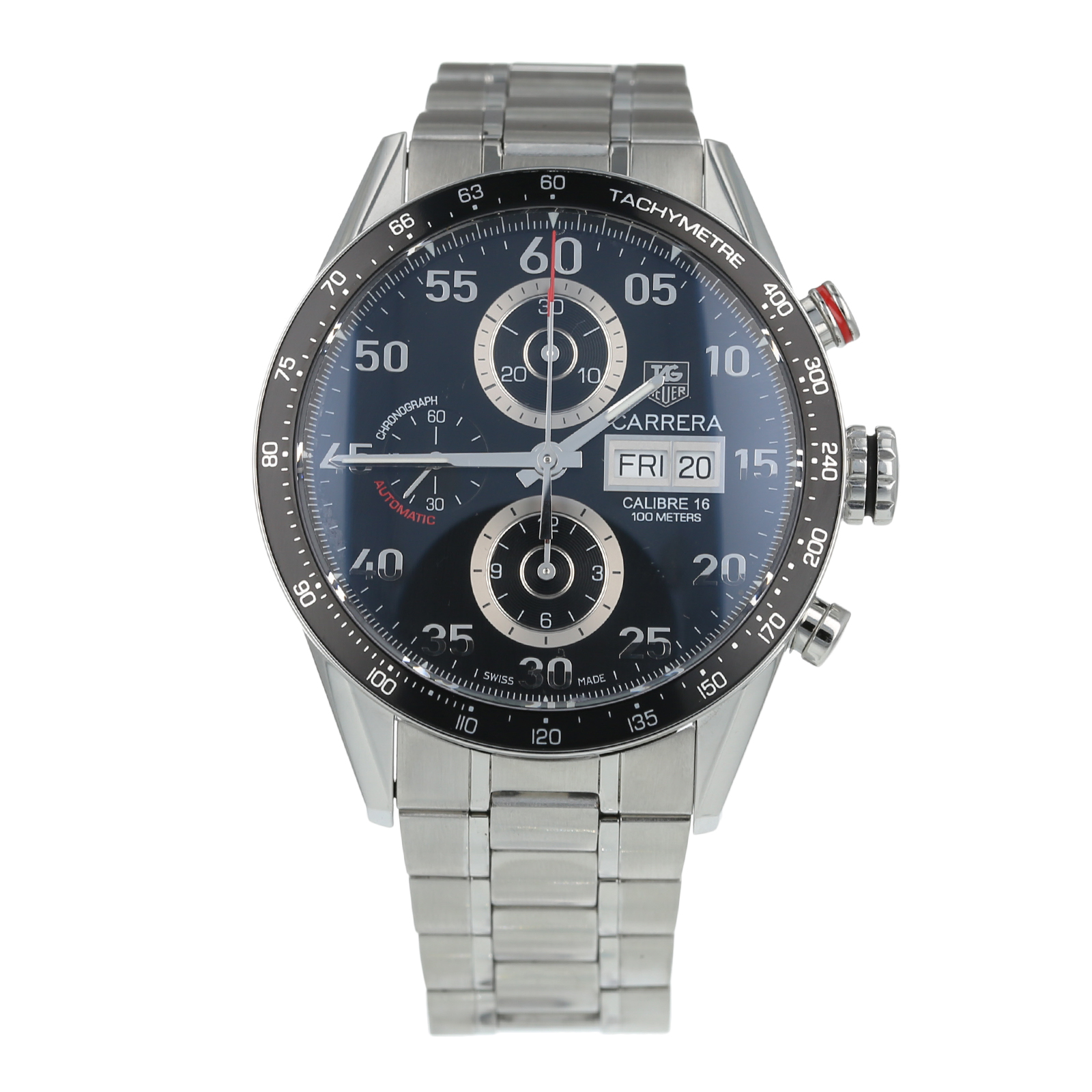 Pre-Owned TAG Heuer Carrera Day Mens Watch CV2A10