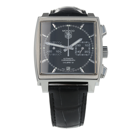 Pre-Owned TAG Heuer Monaco Mens Watch CAW2110