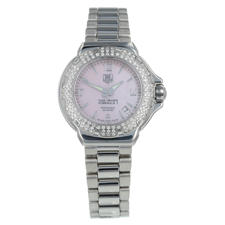 Pre-Owned TAG Heuer Formula 1 Sparkling Ladies Watch WAC1216