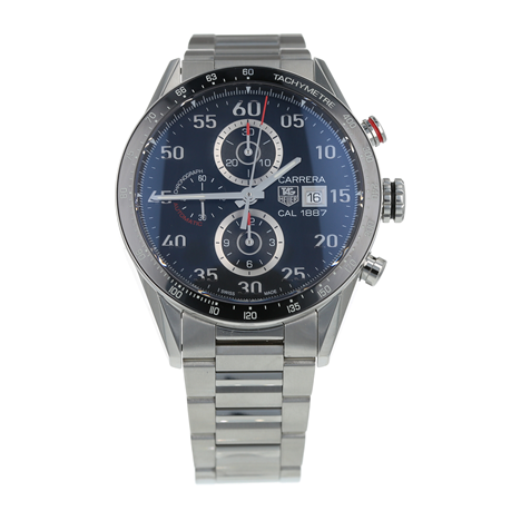 Pre-Owned TAG Heuer Carrera Calibre 1887 Mens Watch CAR2A10-5