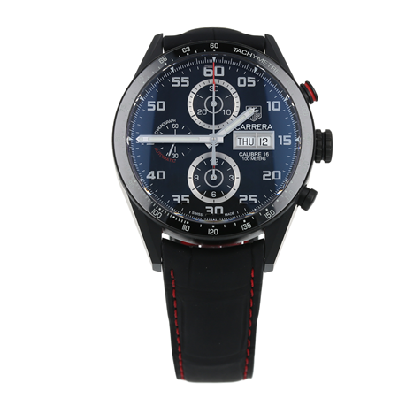Pre-Owned TAG Heuer Carrera Day-Date Mens Watch CV2A81