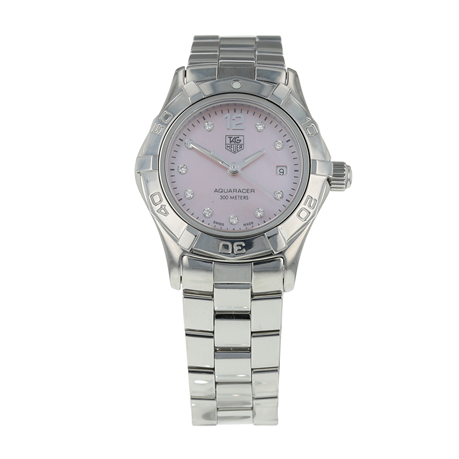 Pre-Owned TAG Heuer Aquaracer Ladies Watch WAF141A