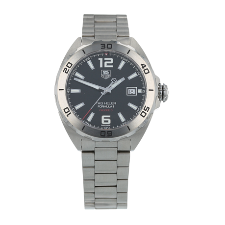 Pre-Owned TAG Heuer Formula 1 Calibre 5 Mens Watch WAZ2113