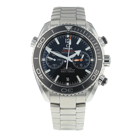 Pre-Owned Omega Seamaster Planet Ocean Chronograph Mens Watch 232.30.46.51.01.001