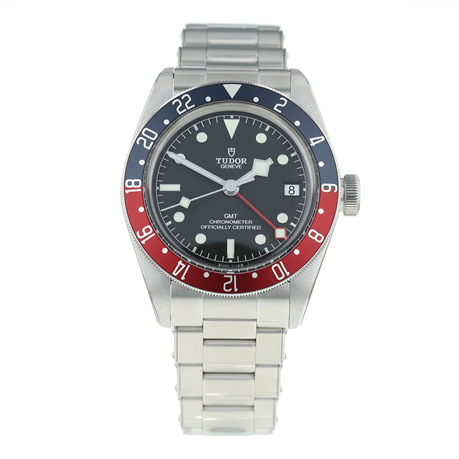 Pre-Owned Tudor Black Bay GMT Mens Watch M79830RB-0001