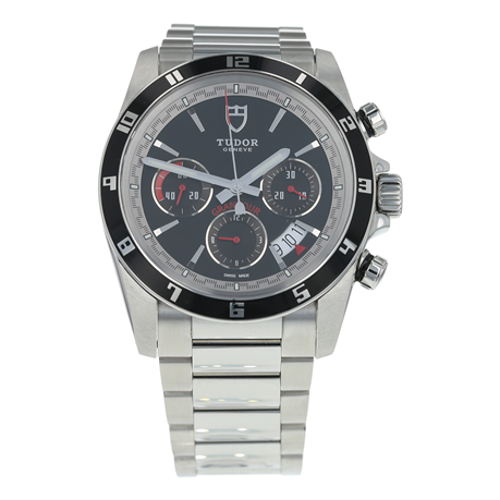 Pre-Owned Tudor Grantour Chronograph Mens Watch 20530N