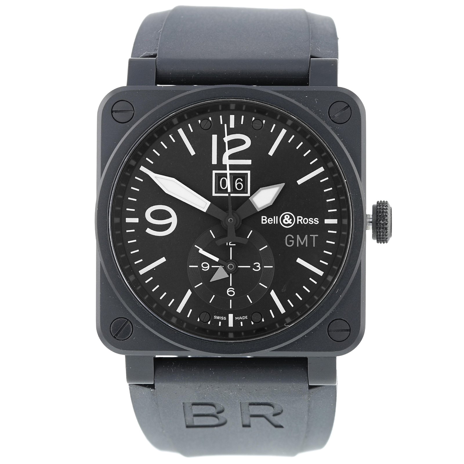 Pre-Owned Bell & Ross GMT Mens Watch