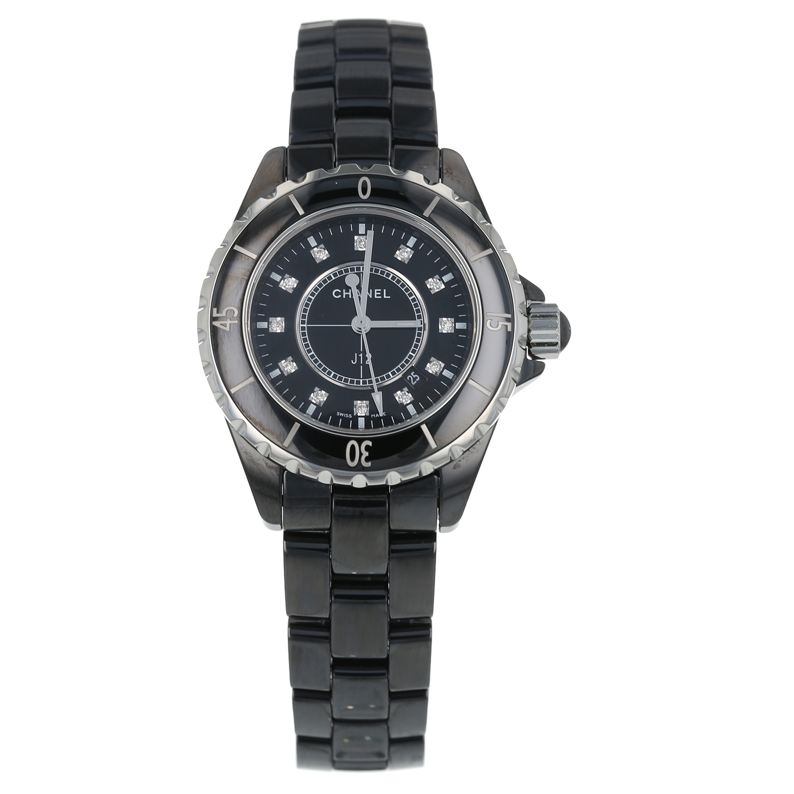 Pre-Owned Chanel J12 Ladies Watch H1625