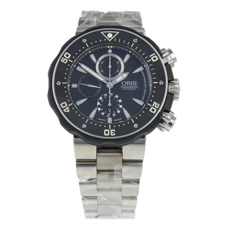Pre-Owned Oris ProDiver Chronograph Mens Watch 01 674 7630 7154-Set
