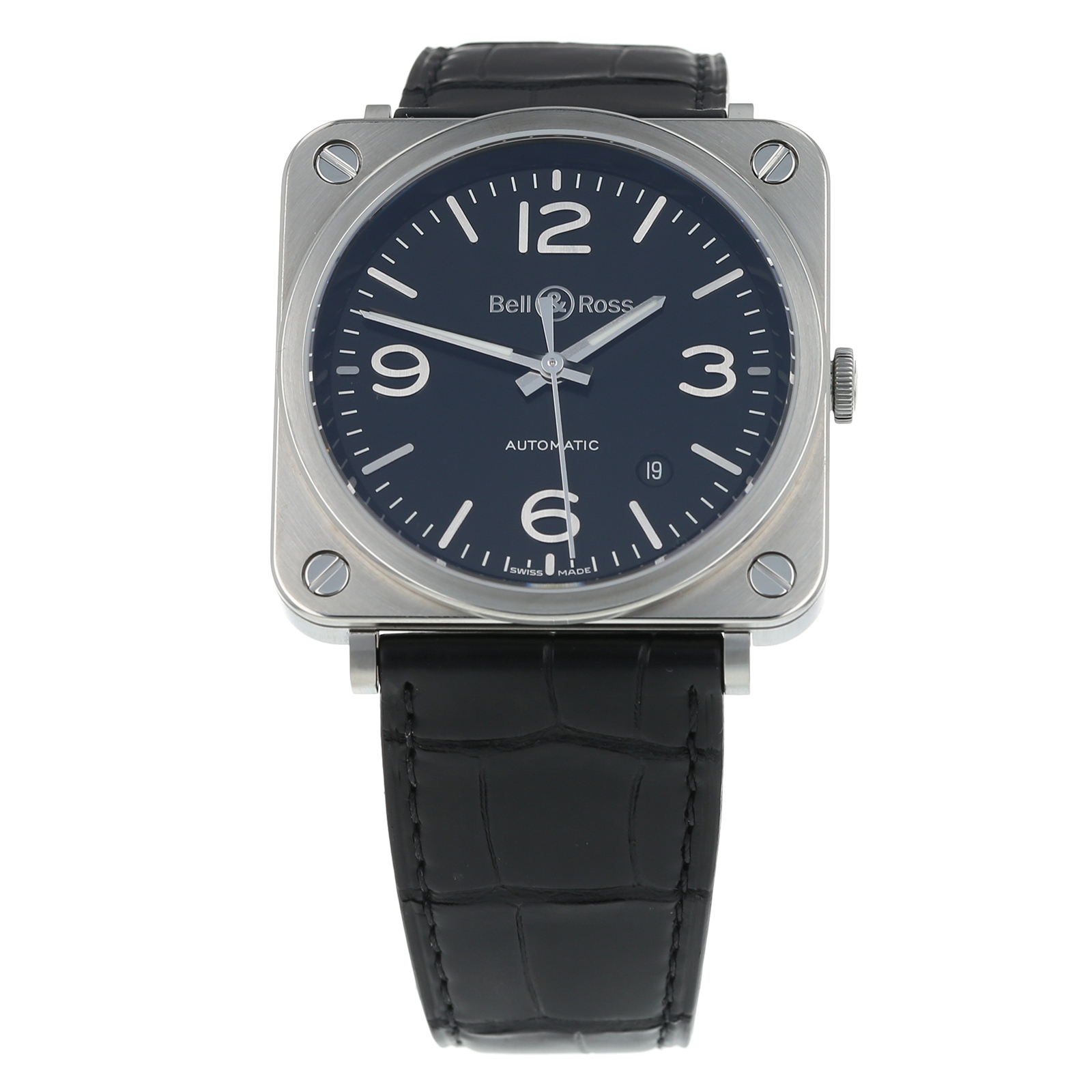 Pre-Owned Bell & Ross BR S-92 Mens Watch BRS-92