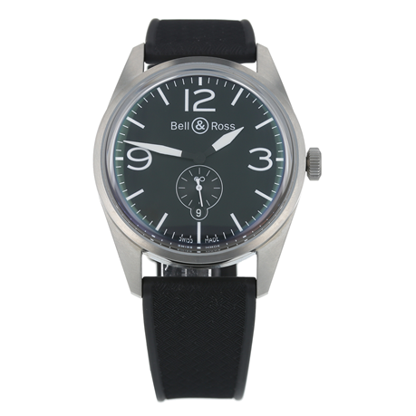 Pre-Owned Bell & Ross Heritage Mens Watch BR123-95