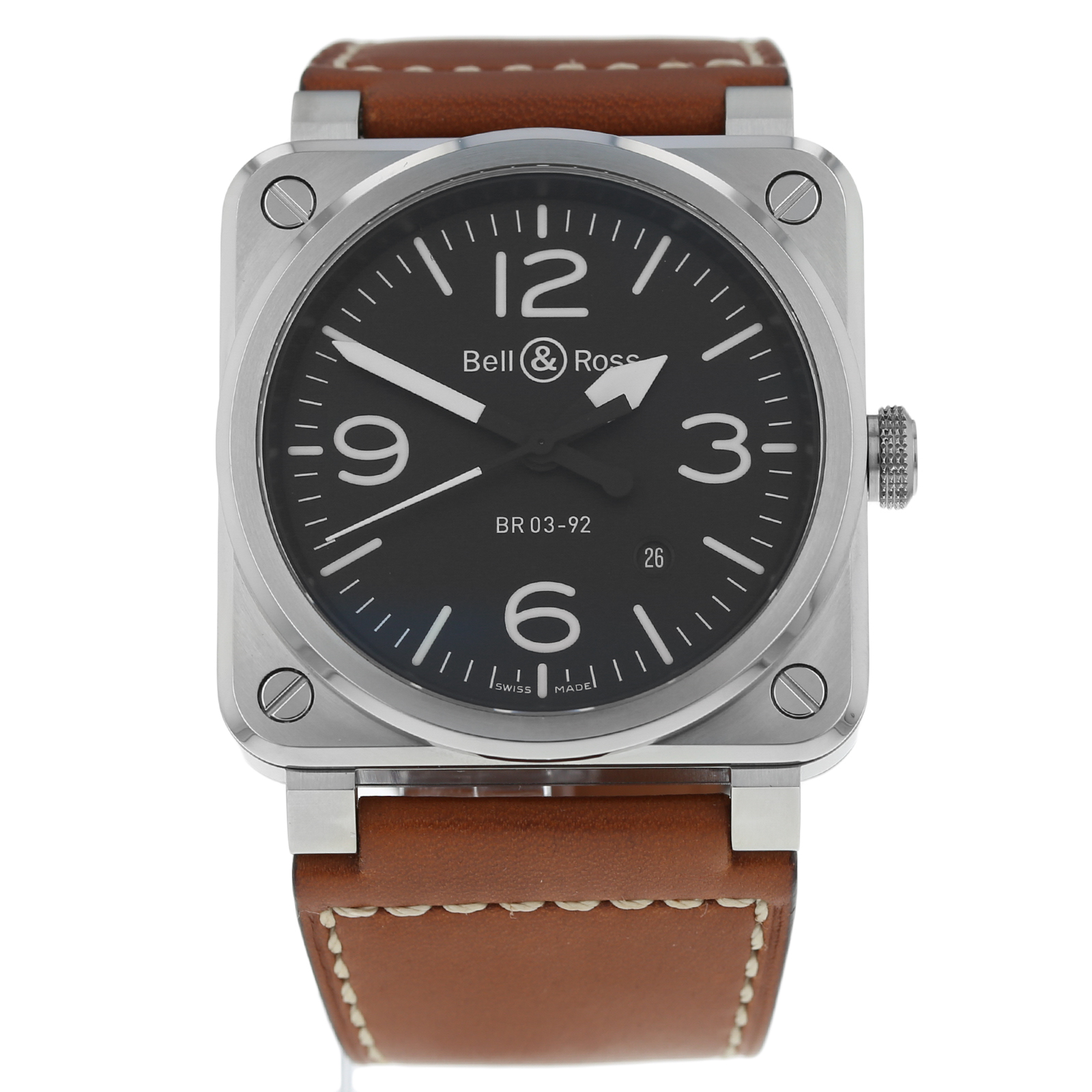 Pre-Owned Bell & Ross BR03-92 Mens Watch BR03-92