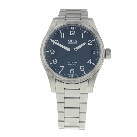 Pre-Owned Oris Big Crown ProPilot Mens Watch 01 751 7697 4164