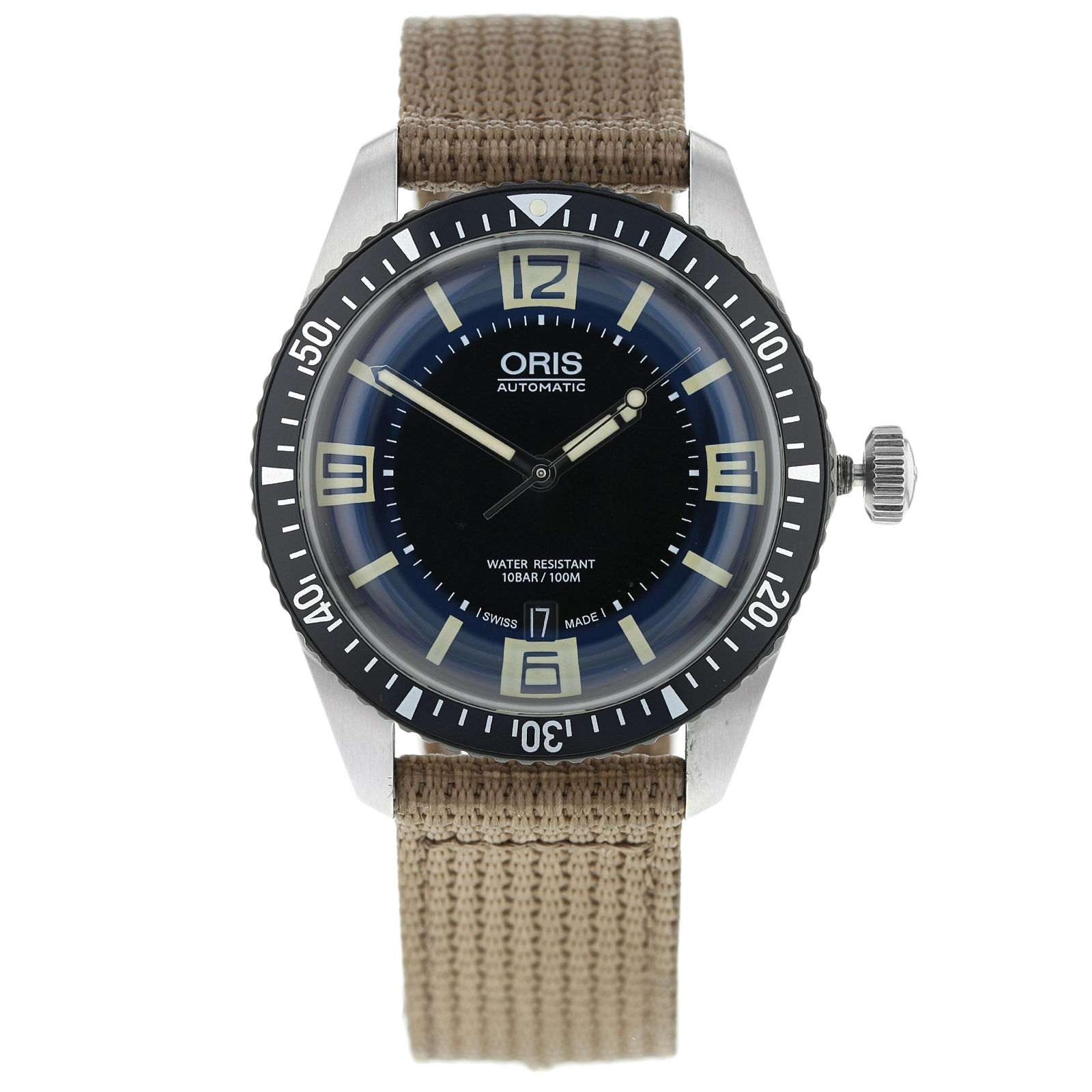 Pre-Owned Oris Heritage Diver Mens Watch 01 733 7707 4064-07 5 20 22