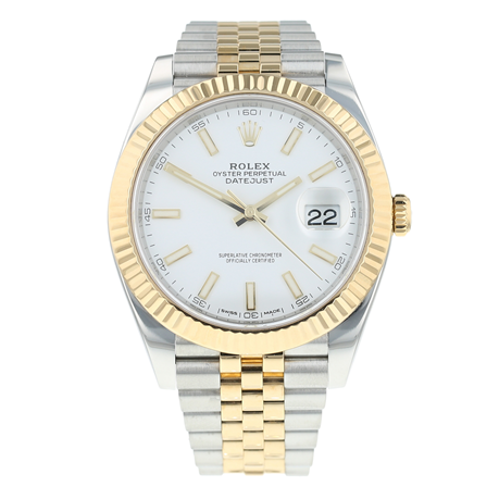 Pre-Owned Rolex Datejust 41 Mens Watch 126333