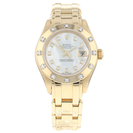 Rolex Pearlmaster Ladies Watch 80318