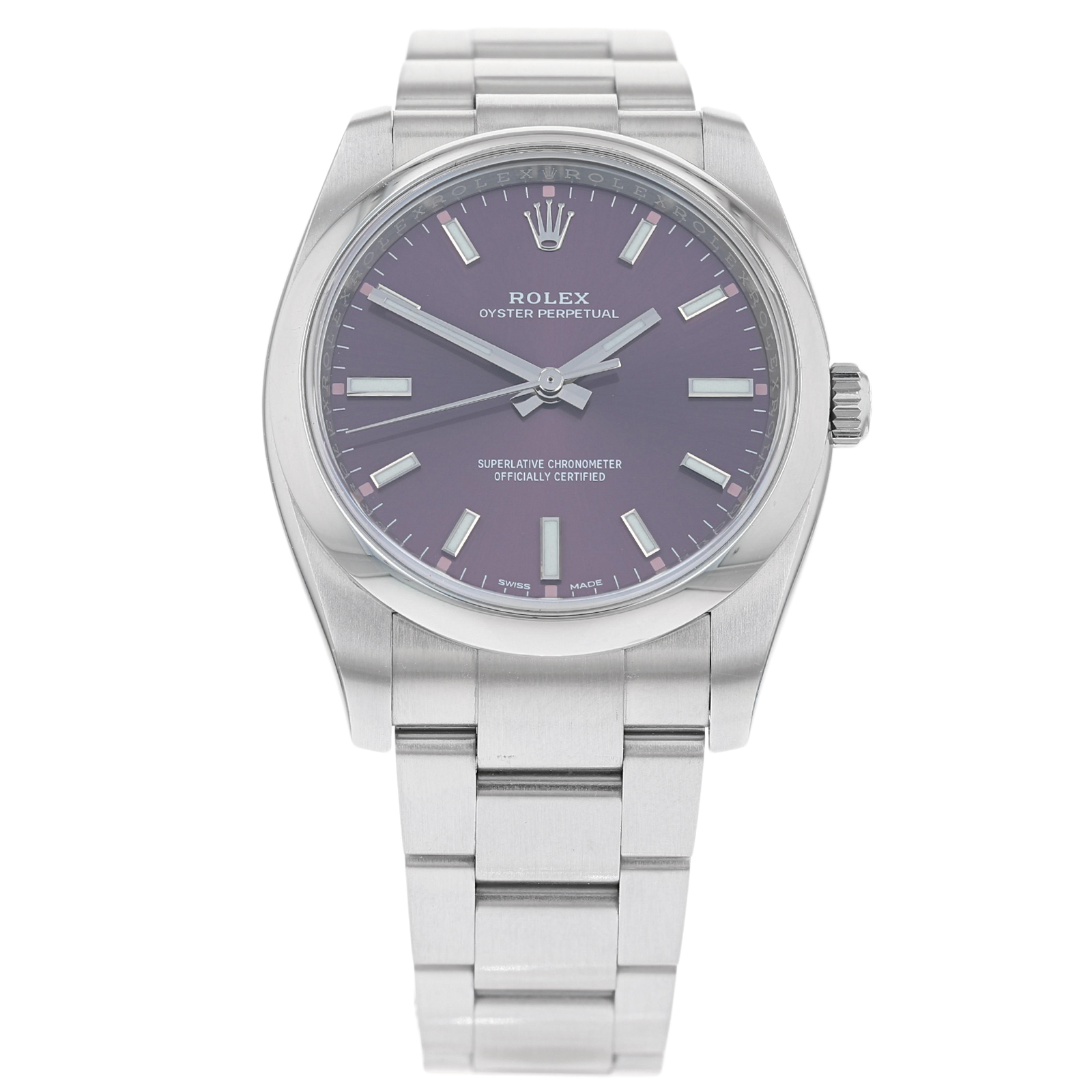 Pre-Owned Rolex Oyster Perpetual 34 Mens Watch 114200