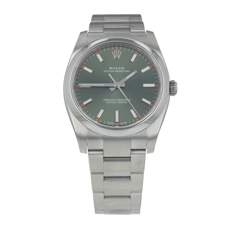 Pre-Owned Rolex Oyster Perpetual Mens Watch 114200