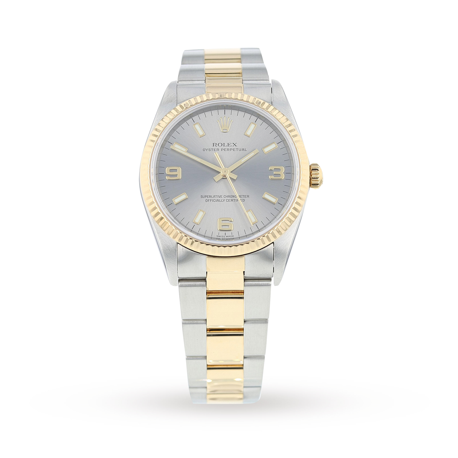 Pre-Owned Rolex Oyster Perpetual Unisex Watch 14233