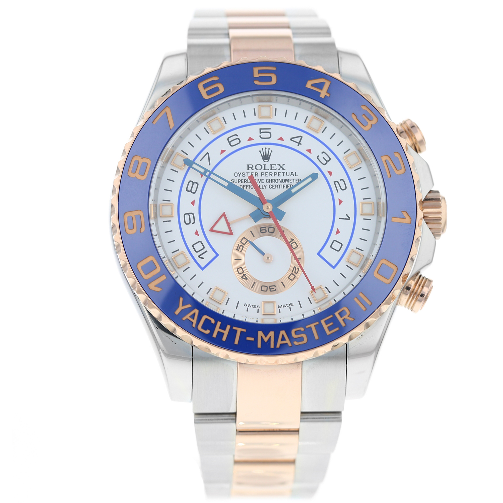 Pre-Owned Rolex Yachtmaster Mens Watch 116681