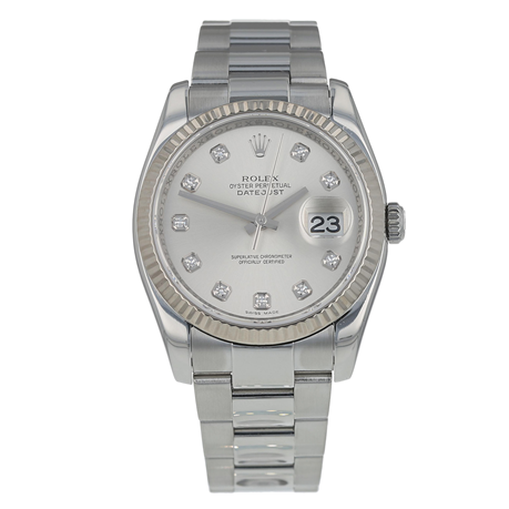 cbe126a3f4b Pre-Owned Rolex Datejust Mens Watch 116234