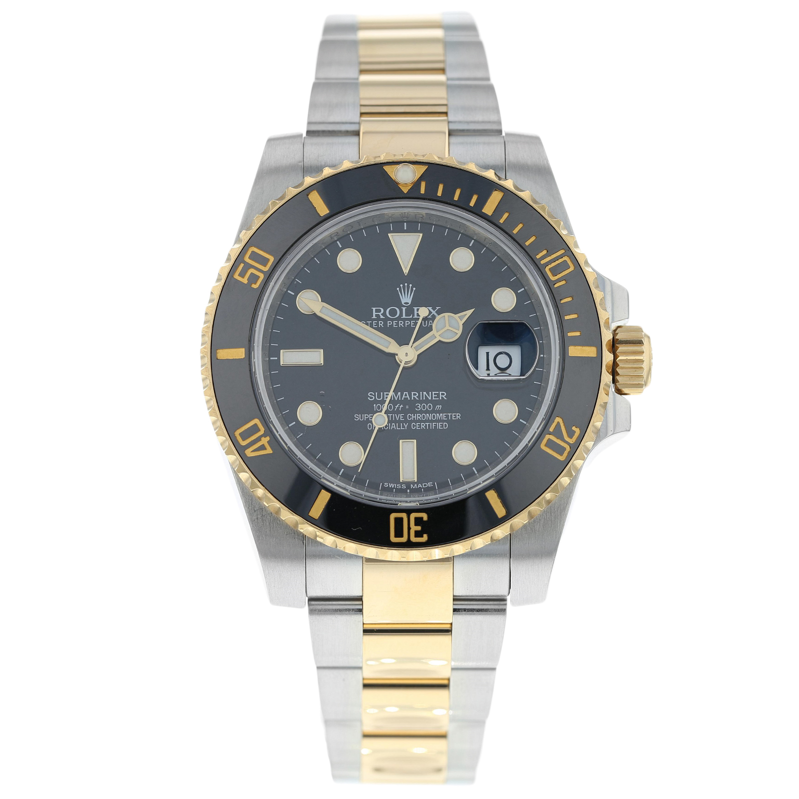 2246a5f74ec37 Pre-Owmed Rolex Submariner Mens Watch 116613LN | Pre Owned Watches | Mappin  & Webb