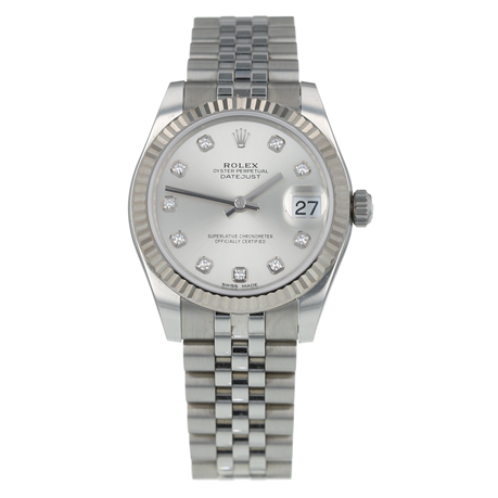 Pre-Owned Rolex Datejust Ladies Watch 178274