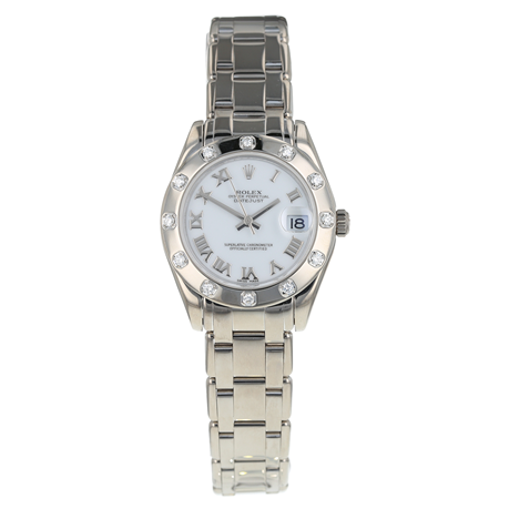 Pre-Owned Rolex Pearlmaster Ladies Watch 81319