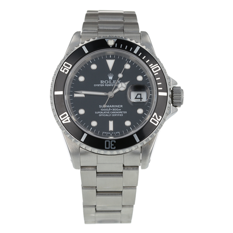 Pre-Owned Rolex Submariner Mens Watch 16610