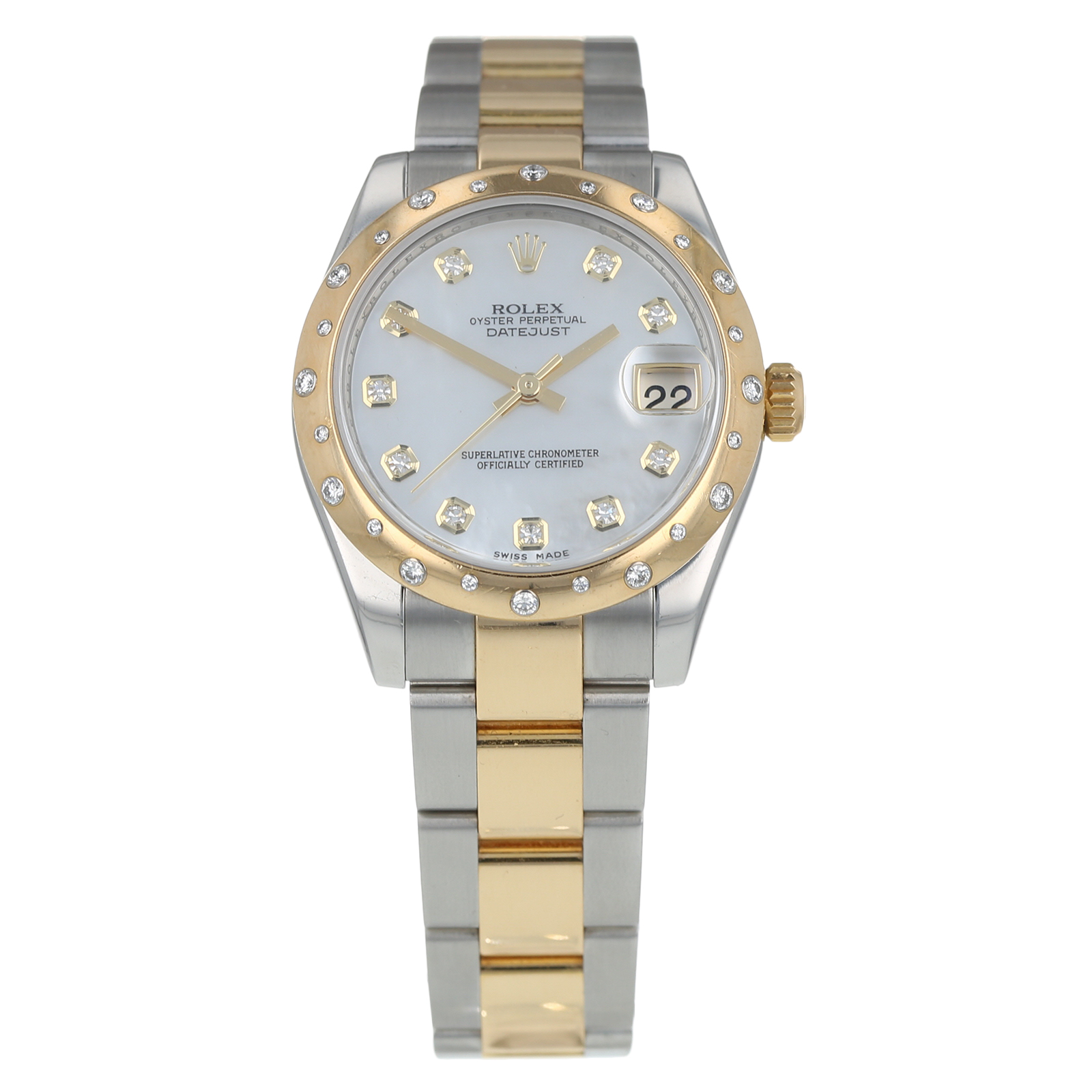 Pre-Owned Rolex Datejust Ladies Watch 178343