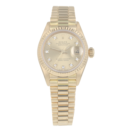 Pre-Owned Rolex Datejust Ladies Watch 69178