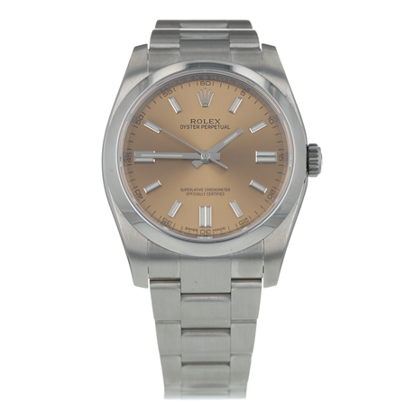 Pre-Owned Rolex Oyster Perpetual Mens Watch 116000