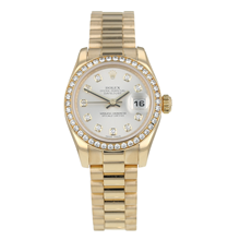 Pre-Owned Rolex Datejust Ladies Watch 179138