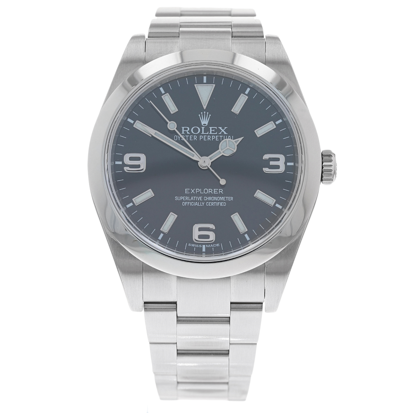 Pre-Owned Rolex Explorer Mens Watch 214270