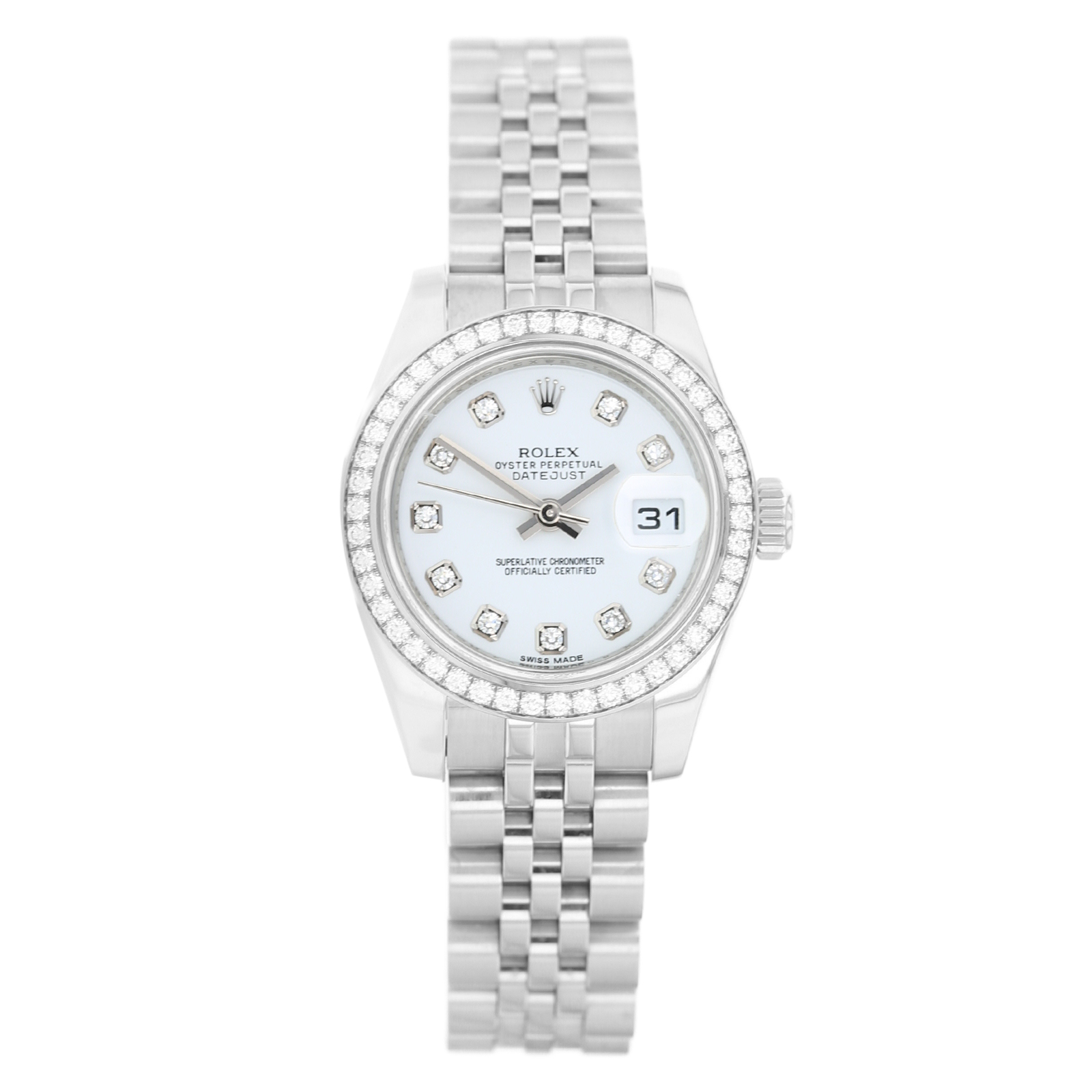8b7688543f26c Pre-Owned Rolex Datejust Ladies Watch 179384 | Pre Owned Watches | Mappin &  Webb