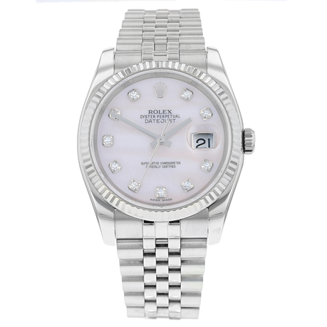 Pre-Owned Rolex Datejust Mens Watch 116234