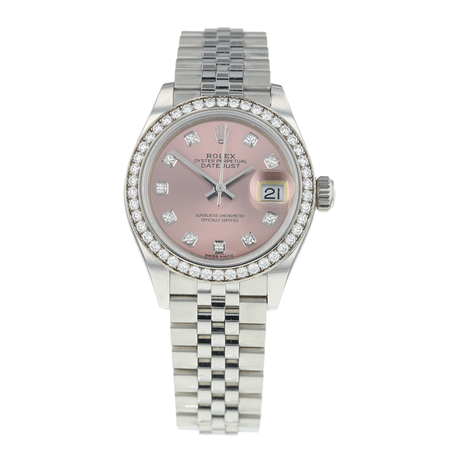 Pre-Owned Rolex Datejust Ladies Watch 279384RBR