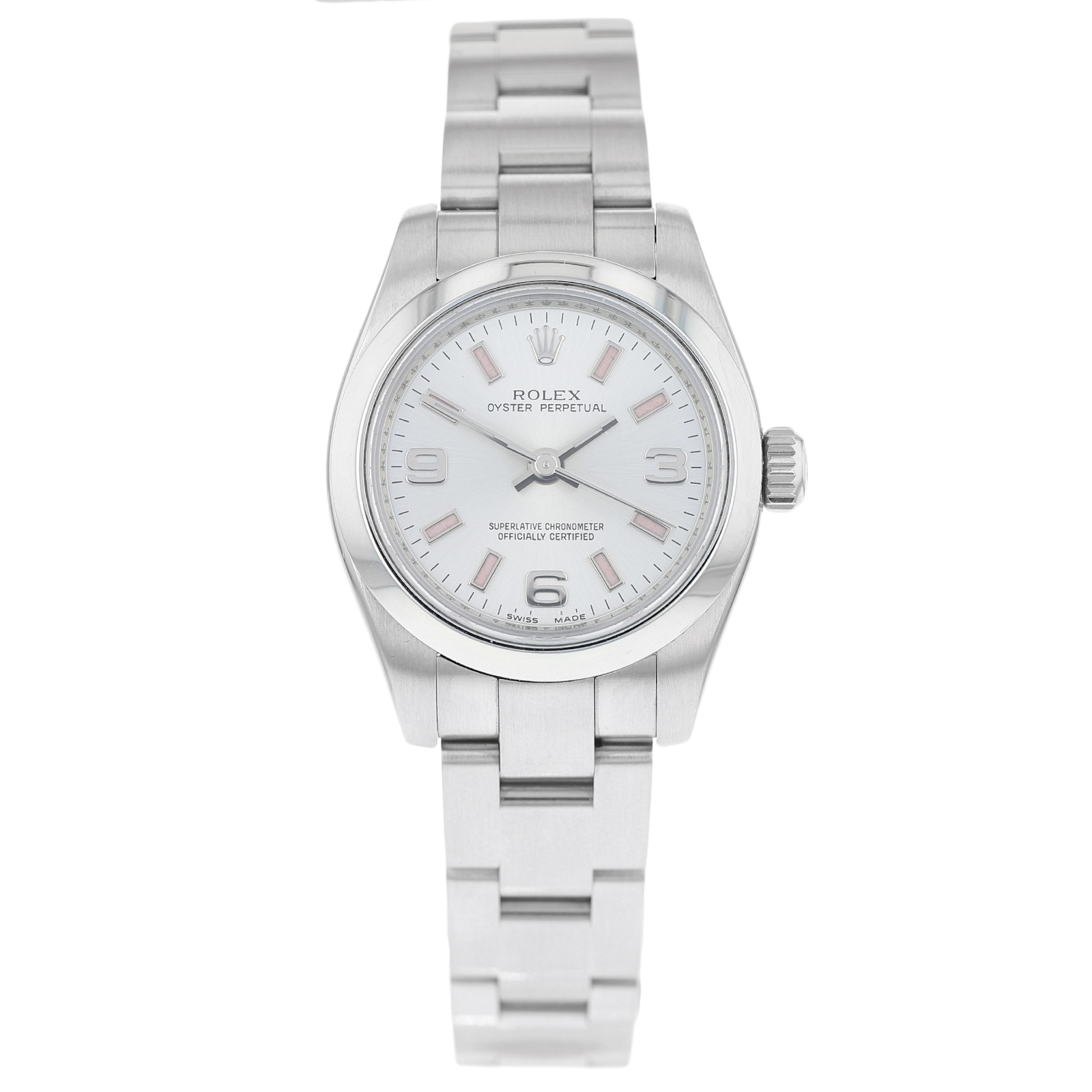 d6ea0da6962 Pre-Owned Rolex Oyster Perpetual Ladies Watch 176200 | Pre Owned Watches |  Mappin & Webb