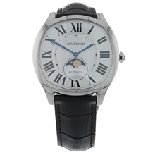 Pre-Owned Cartier Drive de Moon Phases Mens Watch WSNM0008/3978