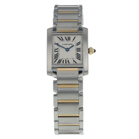 Pre-Owned Cartier Tank Francaise Ladies Watch W51007Q4/  2384