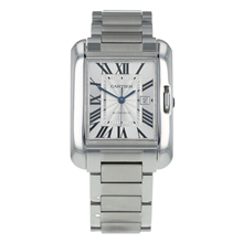 Pre-Owned Cartier Tank Anglaise Mens Watch W5310009/ 3511