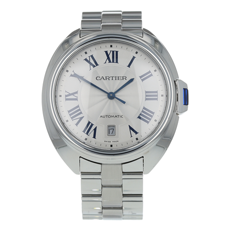 Pre-Owned Cartier Cle de Mens Watch WSCL0007/ 3850