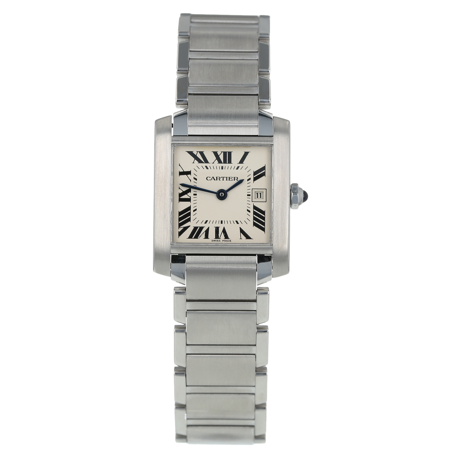 Pre-Owned Cartier Tank Francaise Ladies Watch W51011Q3/2465