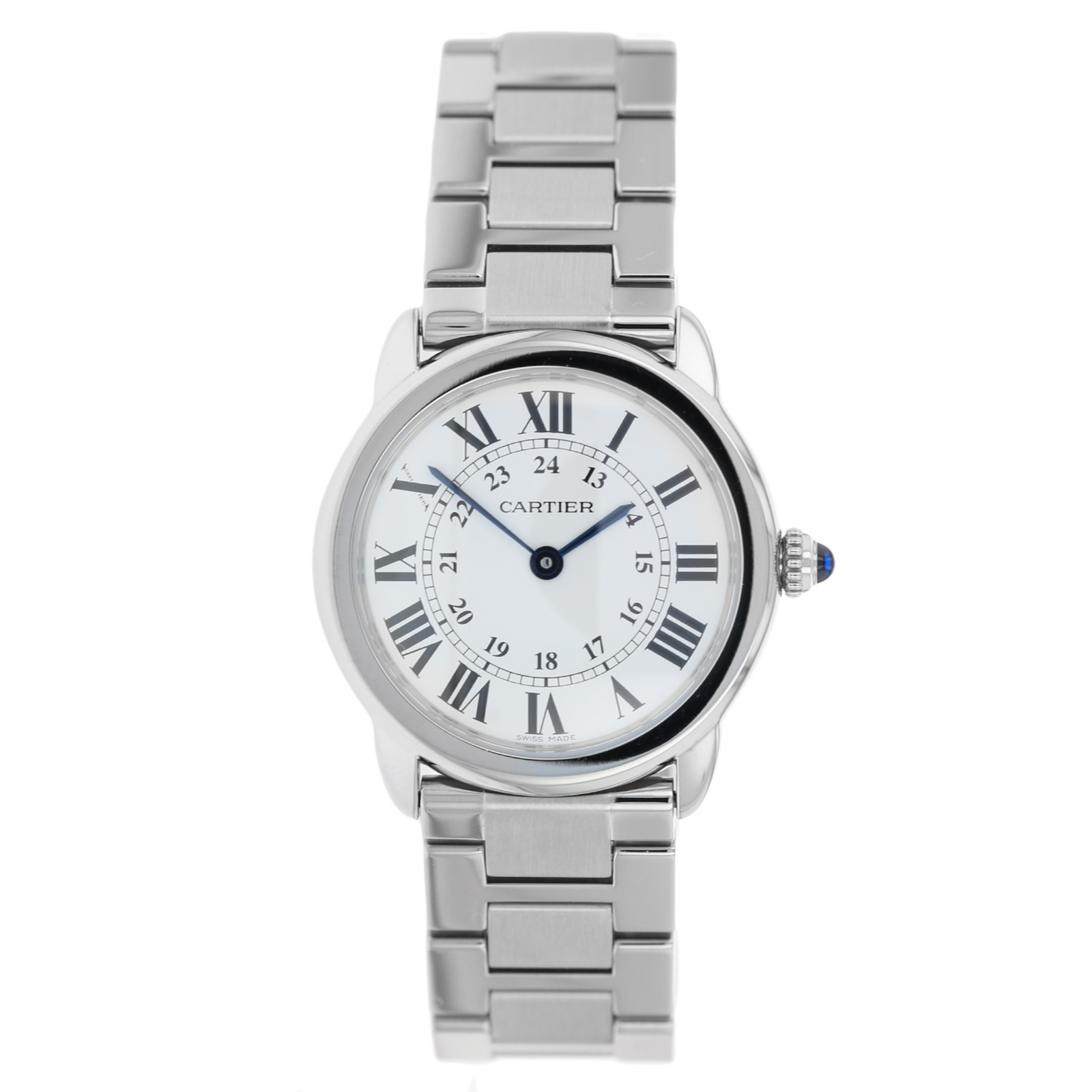 Pre-Owned Cartier Ronde Solo De Unisex Watch W6701005/3601