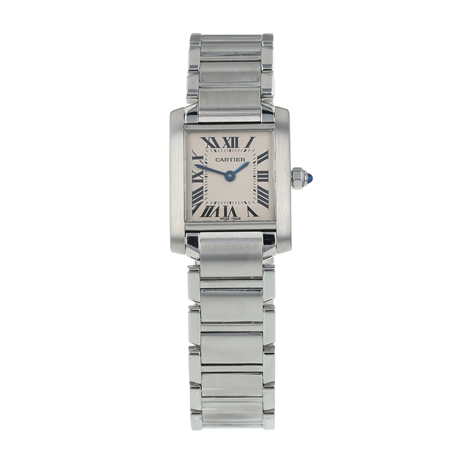 Pre-Owned Cartier Tank Française Ladies Watch W51008Q3/2384